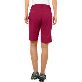VAUDE Tamaro Shorts Women crimson red